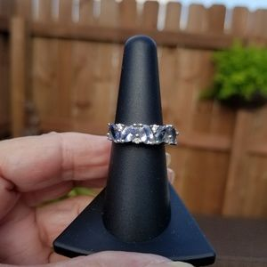 Bi-Color Tanzanite & Zircon Ring